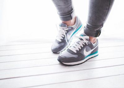 Choosing good running shoes