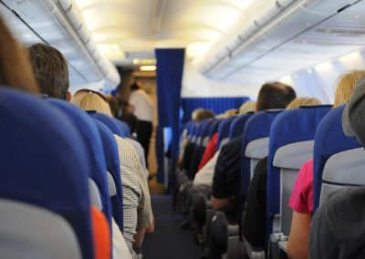 Healthy tips for air travel